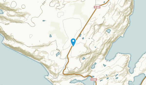 Skarsvag, Finnmark Map