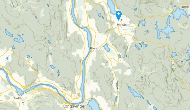 Hedmark norway map