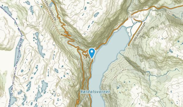 Håra, Hordaland Map