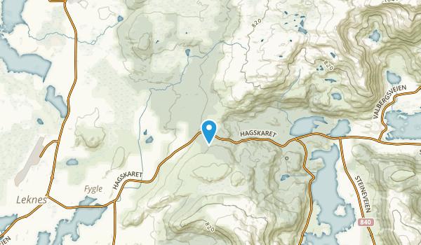 Vestvågøy, Nordland Map