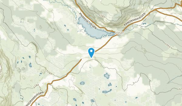 Kvålestølen, Oppland Map