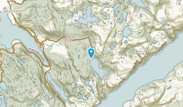 Eiane, Rogaland Map