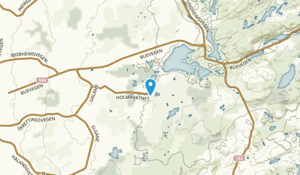 Hå, Rogaland Map