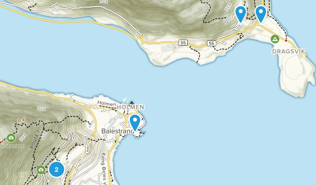 Balestrand, Sogn og Fjordane Map