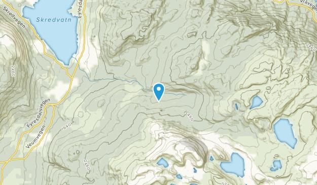 Fyresdal, Telemark Map