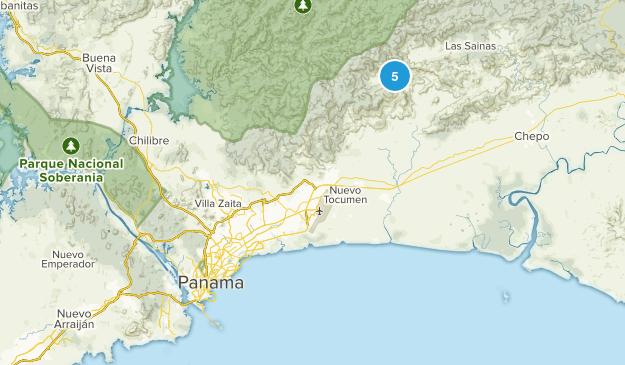 Panamá, Panama Map