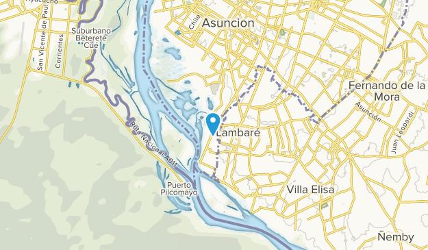 Asuncion, Asunción Map
