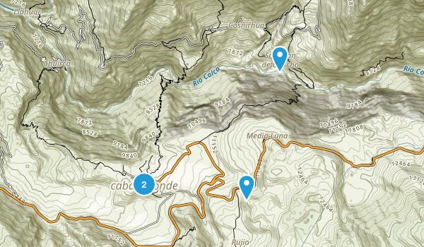 Caylloma, Arequipa Map