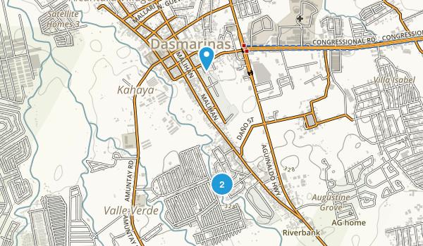 Dasmariñas, Cavite Map