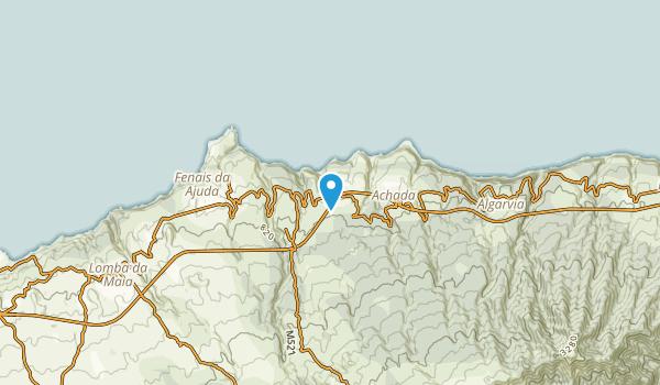 Achada, Portugal Map