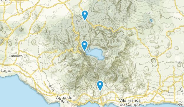 Agua d'Alto, Portugal Map