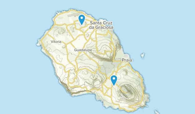Azoren Karte.Beste Wege In Der Nähe Von Luz Azoren Portugal Alltrails