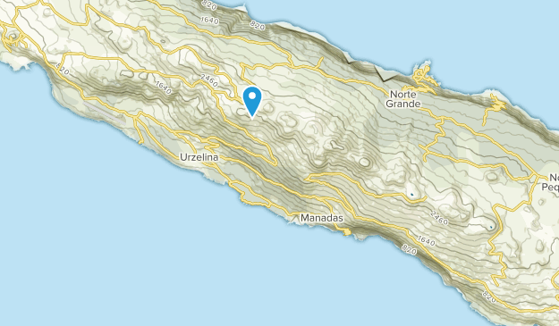 Velas, Azores Map