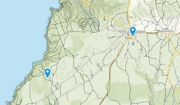 Vila do Bispo, Faro Map