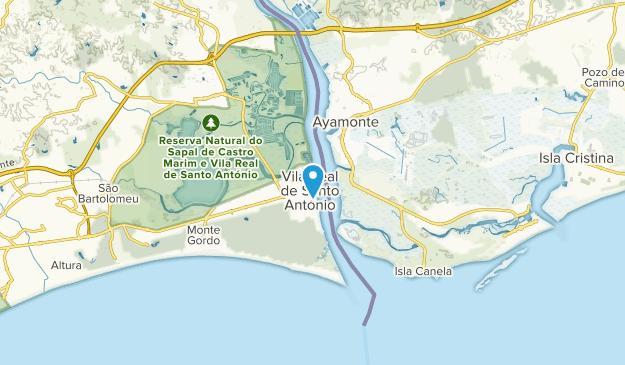 Vila Real de Santo António, Faro Map