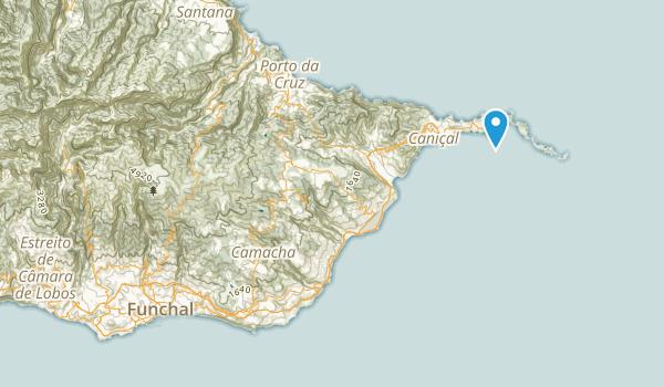 Funchal, Ilha da Madeira Map