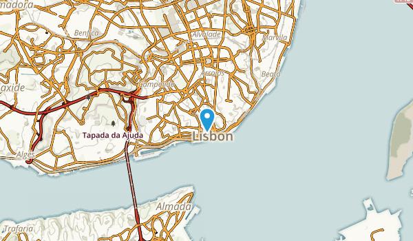 Lisbon, Lisboa Map