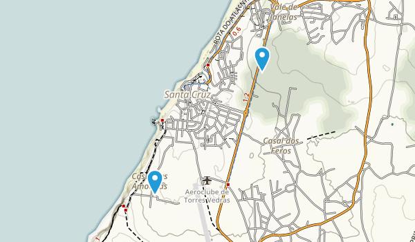 Santa Cruz, Lisboa Map