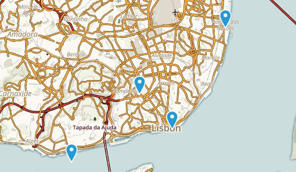 Santa Maria de Belém, Lisboa Map