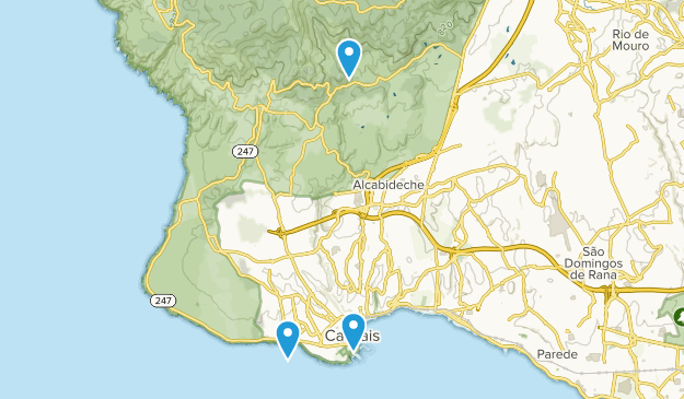 Cascais, Lisbon Map