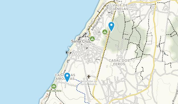 Santa Cruz, Lisbon Map