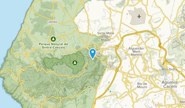 Sintra, Lisbon Map