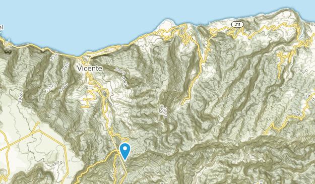 São Vicente, Madeira Island Map