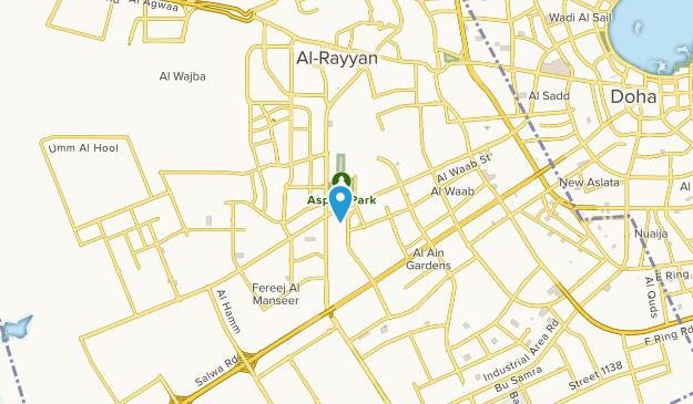 Al Aziziya, Ar Rayyān Map
