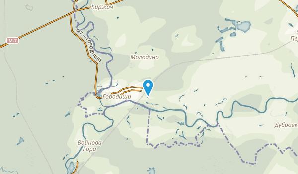 Petushinskij, Владимирская область Map