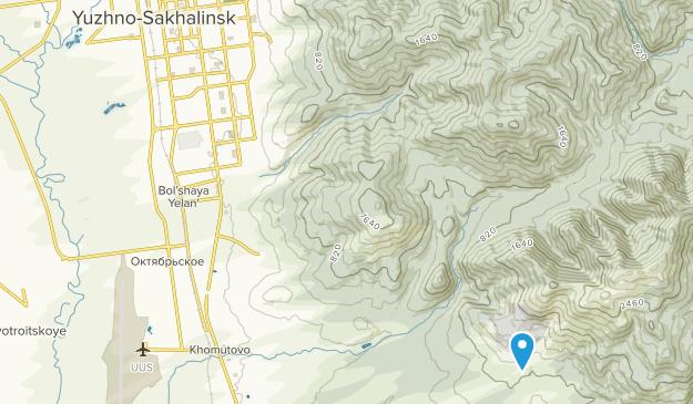 Yuzhno-Sakhalinsk, Сахалинская область Map