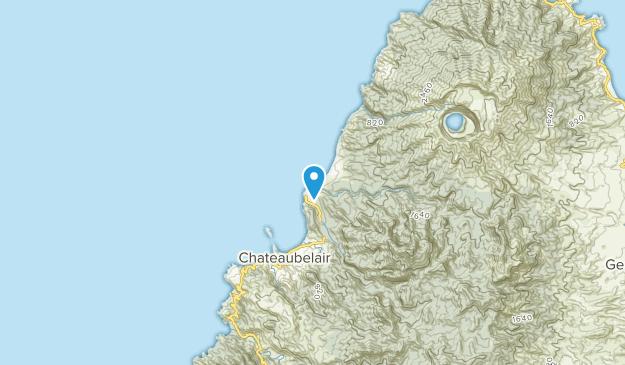 Chateaubelair, Saint David Map