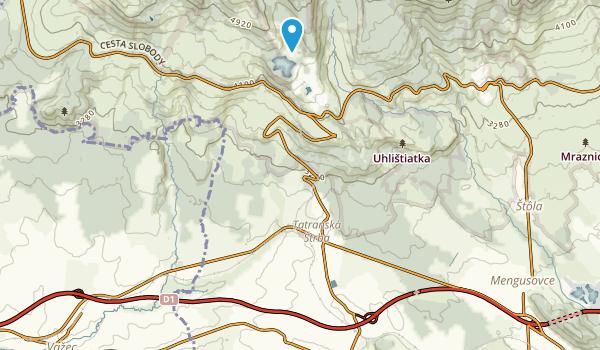 Štrba, Prešovský kraj Map
