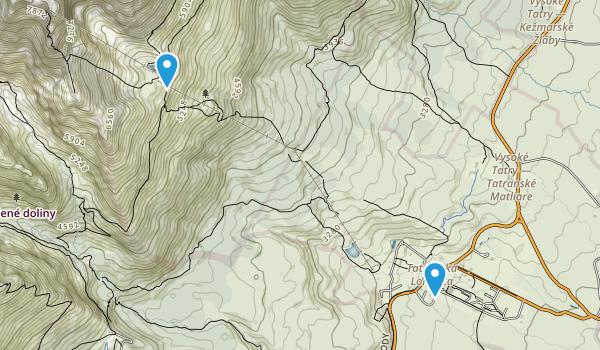Tatranská Lomnica, Prešovský kraj Map