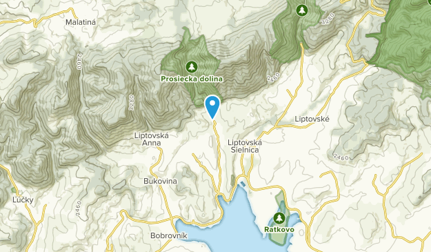 Prosiek, Žilinský kraj Map