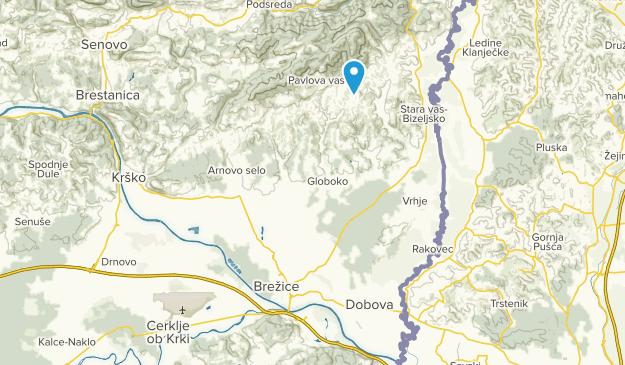 Brežice, Brežice Map