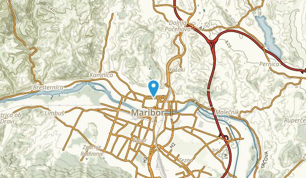 Maribor, Maribor Map