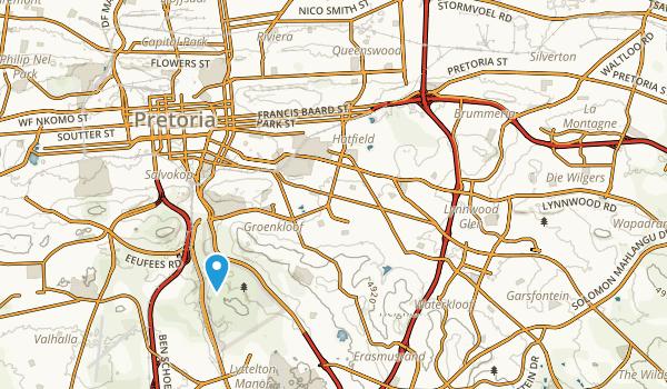 Pretoria, Gauteng Map