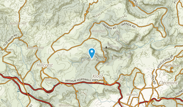 Forest Hills, Kwazulu-Natal Map