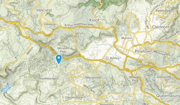Pinetown, Kwazulu-Natal Map