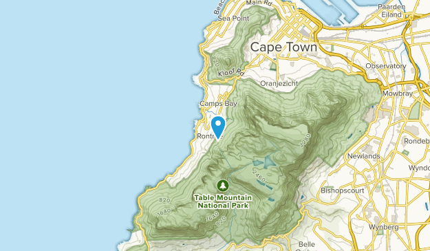 Bakoven, Western Cape Map