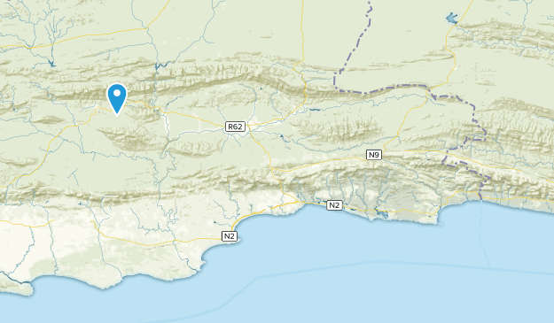 Eden, Western Cape Map