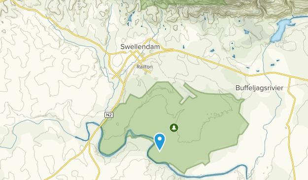 Swellendam, Western Cape Map