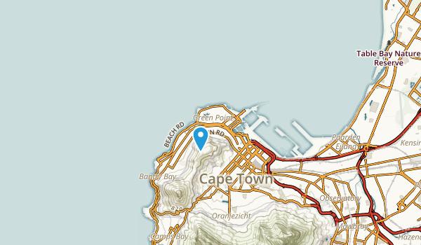 Three Anchor Bay, Western Cape Map
