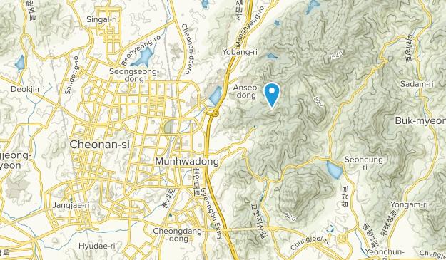 Beste Wege in der Nähe von Cheonan-si, Chungcheongnam-do ...