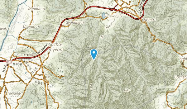 Sinhŭng-dong, Gangwon Map