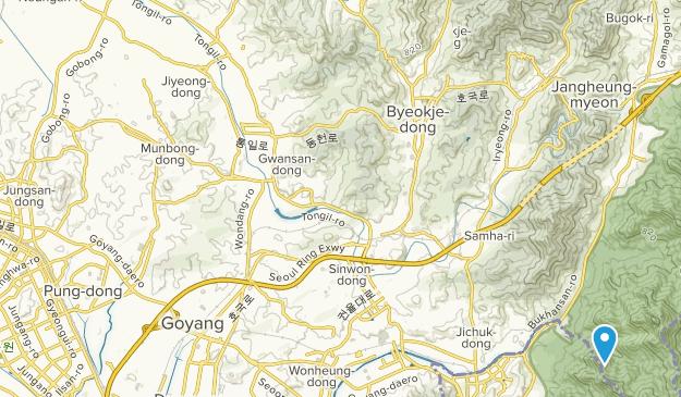 Goyang-si, Gyeonggi-do Map