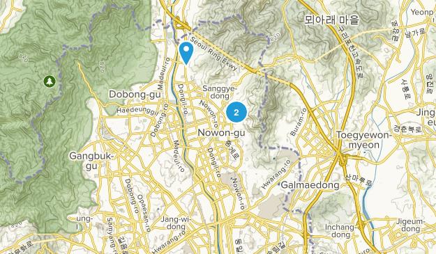 Nowon-gu, Seoul Map