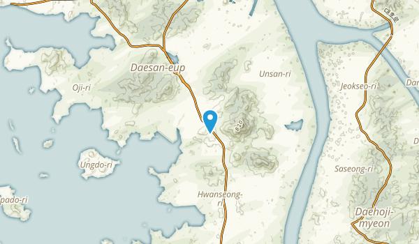 Kujin, South Chungcheong Map