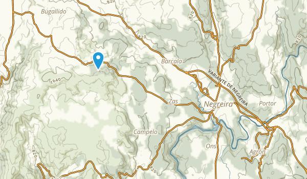 Negreira, A Coruña Map