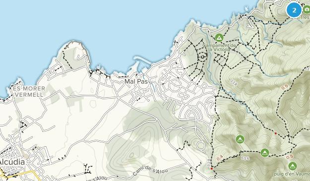 Alcúdia, Balearic Islands Map